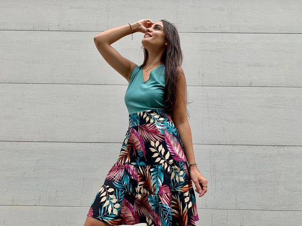 Vestido Sublime Tropical