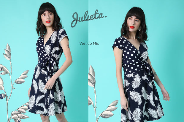 Vestido Mix Julieta Shop