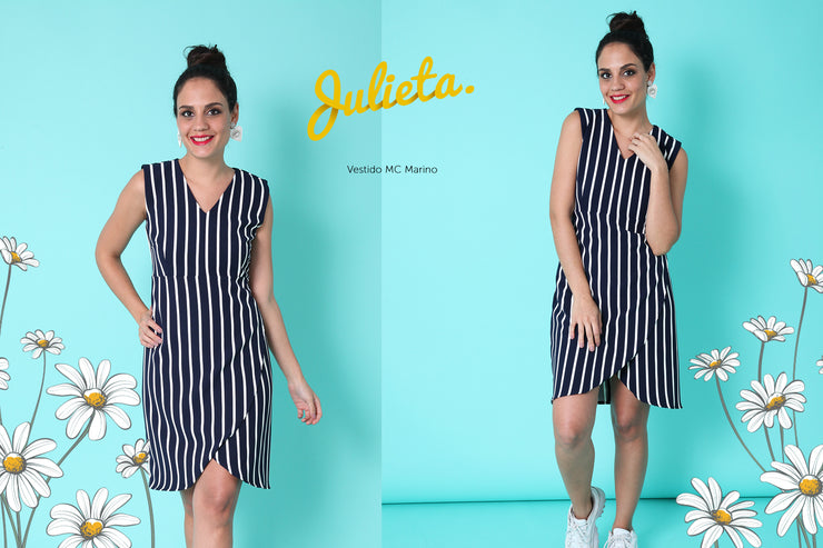 Vestido MC Marino Julieta Shop