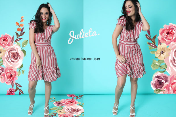 Vestido Sublime Heart Julieta Shop