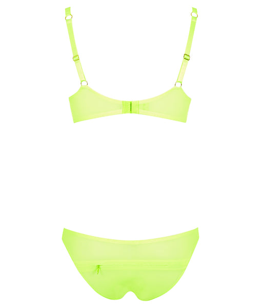 L'Agent by Agent Provocateur Fara - kalhotky - Lime