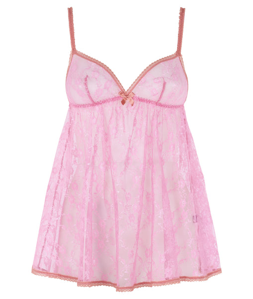 L'Agent by Agent Provocateur Monica Babydoll - Pink/Guava