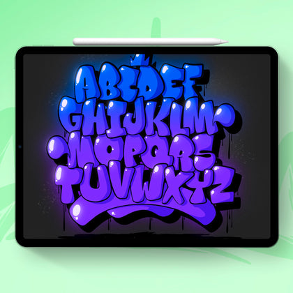 Procreate Alphabets