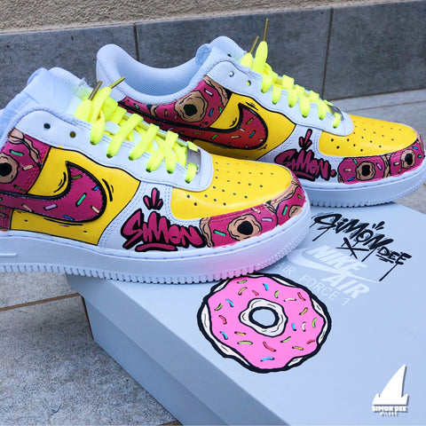 Custom (1of1) Donuts Air Force 1