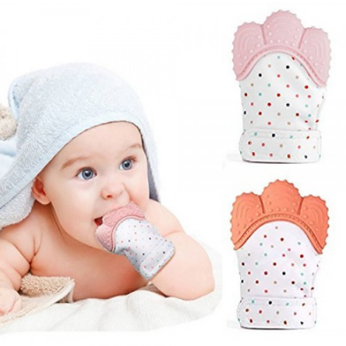 Soft Baby Teething Mitten - Urban Chase
