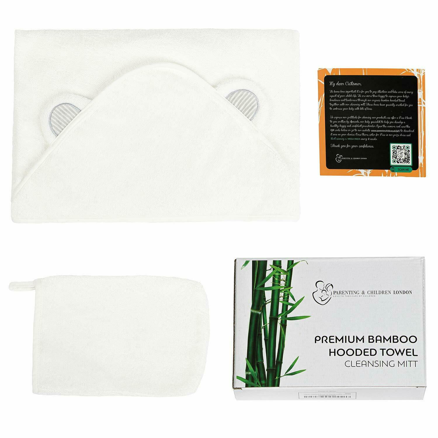 Ultra Soft Organic Bamboo Hooded Towel - Urban Chase