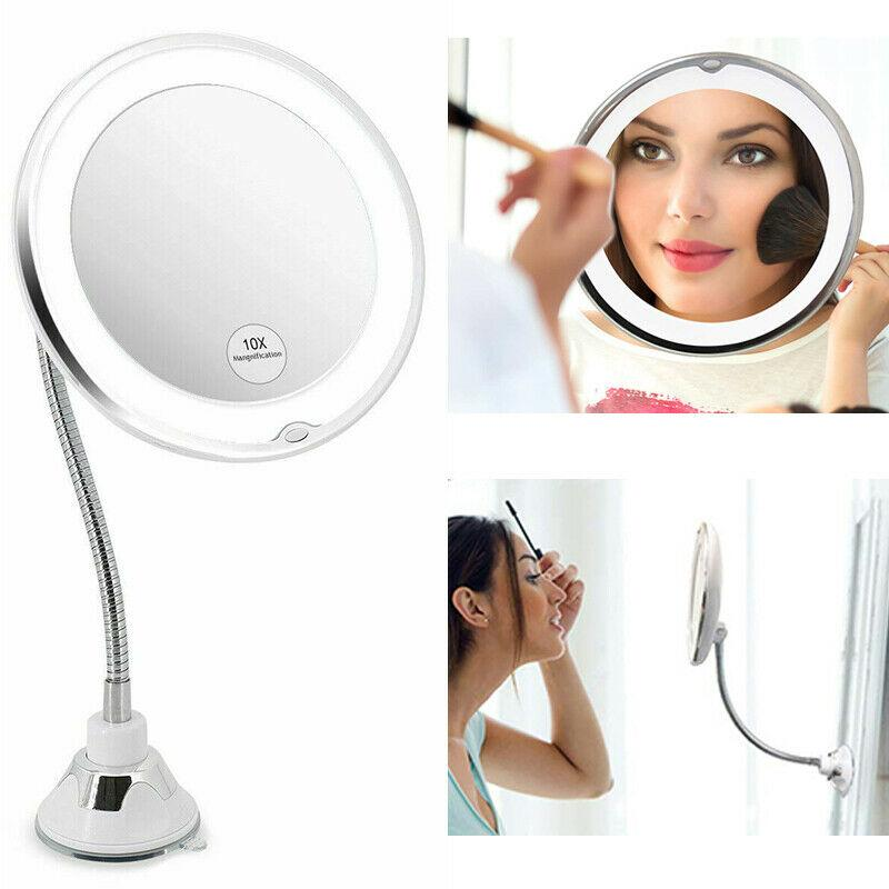 Flexible Magnify Vanity Mirror