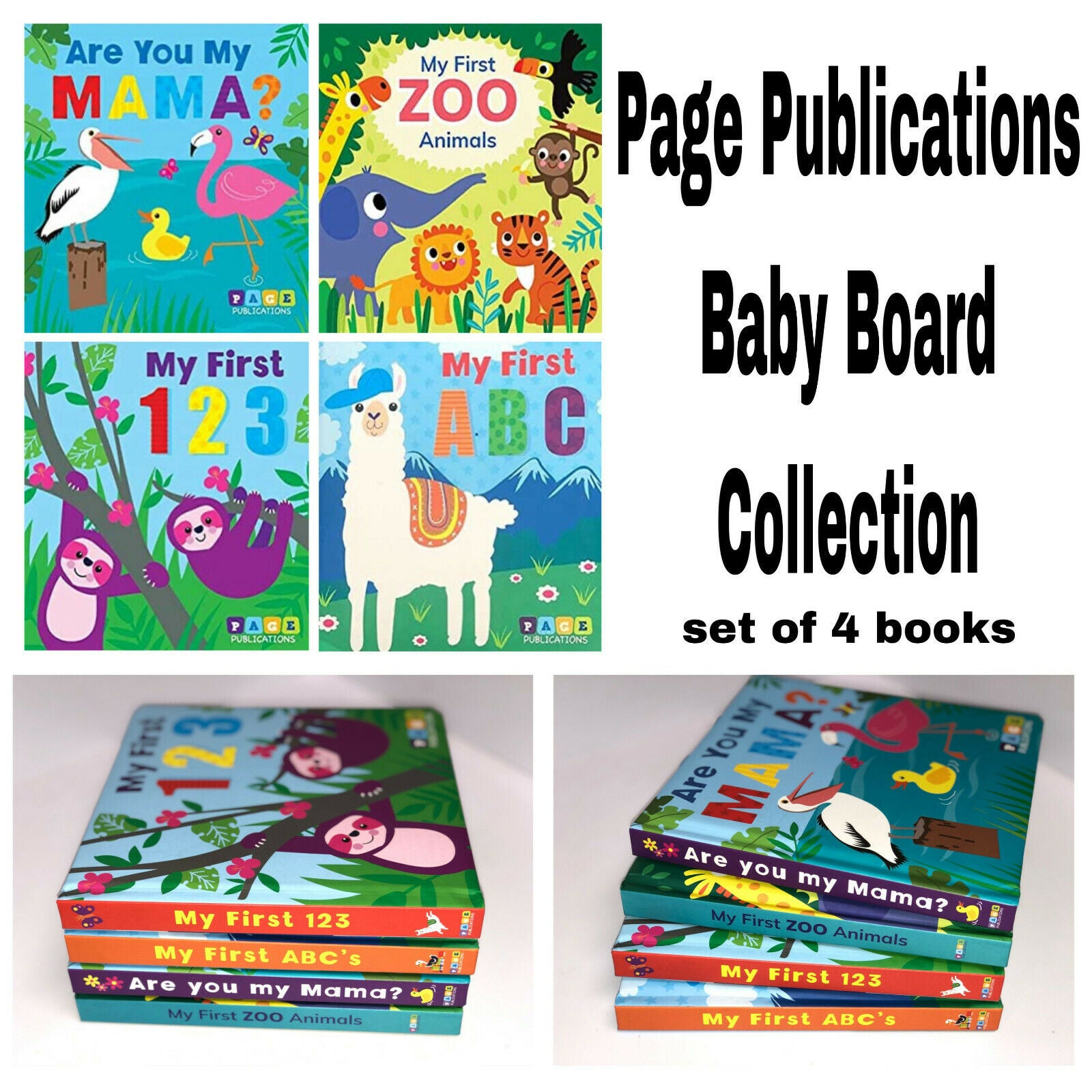 Early Learning Books Set of 4
