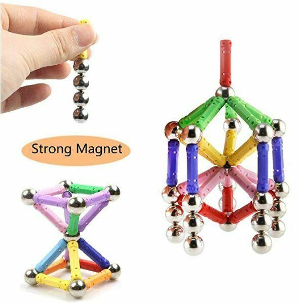 Creative Magnetic Building Blocks Puzzle 145 Pcs - Urban Chase