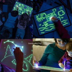 LED Fluorescent Drawing Board