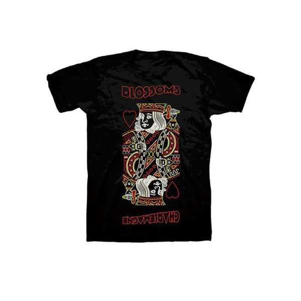CHARLEMAGNE BLACK T-SHIRT