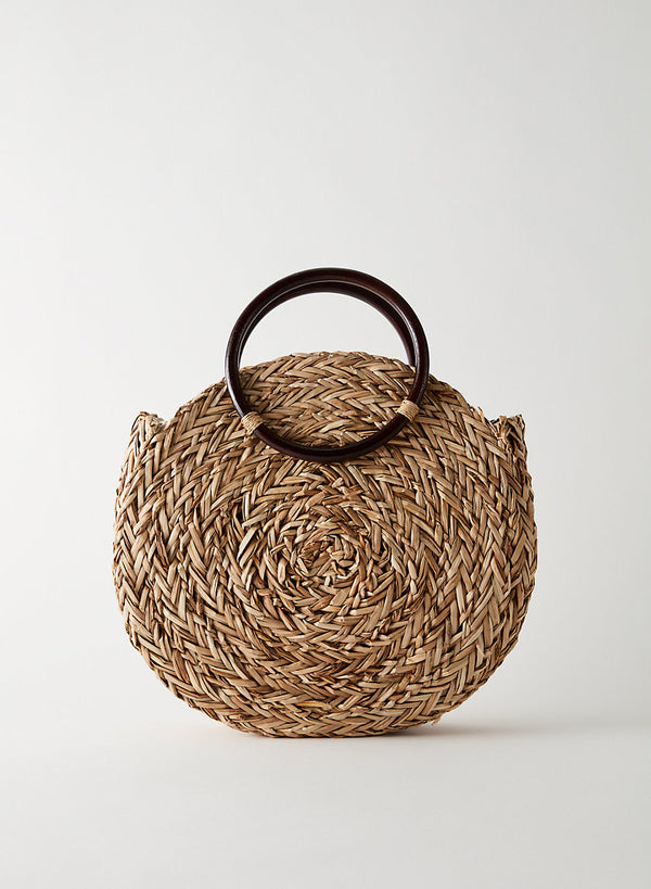 Handmade Straw Bag - Euphoros Collective
