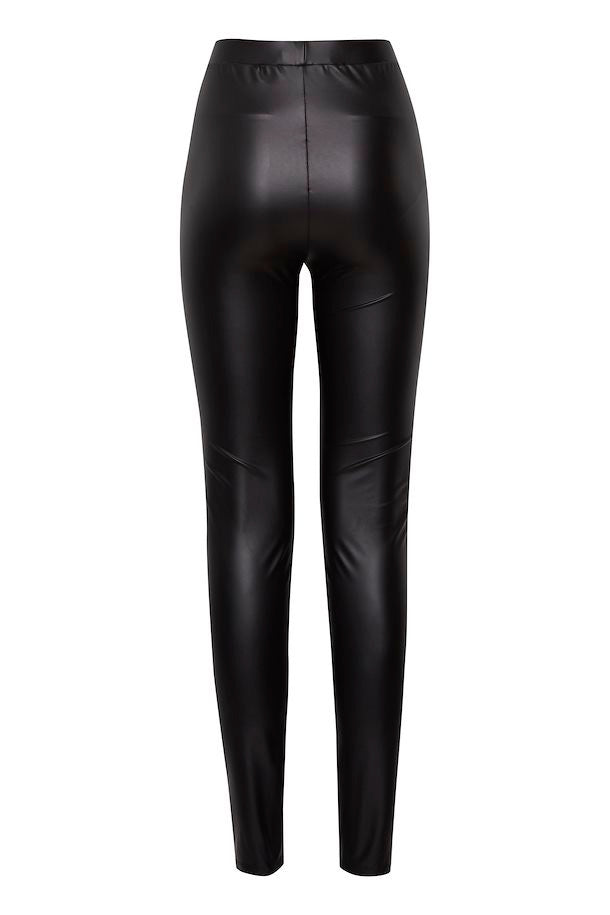 Leather Slim Pant - Euphoros Collective