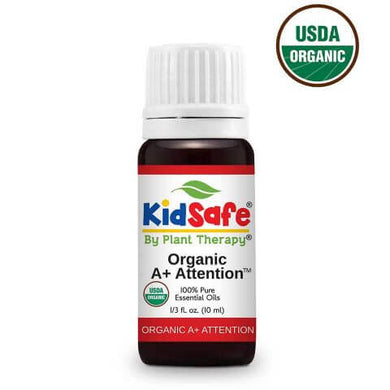 A+ Attention KidSafe Organic Essential Oil A+專注力有機兒童安全複方精油