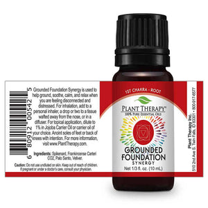 Grounded Foundation (Root Chakra) Essential Oil 基礎連接複方精油