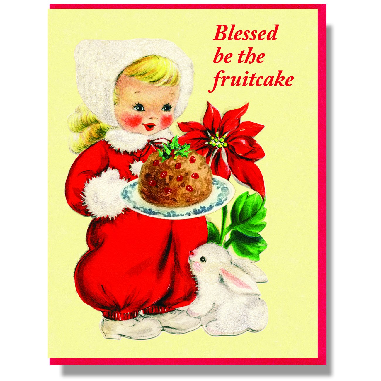 Blessed Be The Fruitcake Card