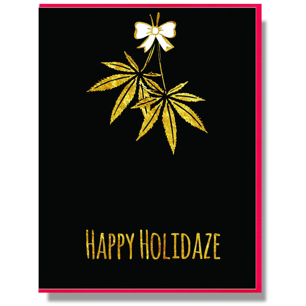 Happy Holidaze Card