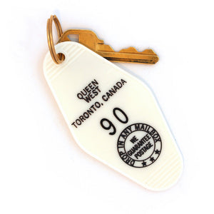 Queen West Keychain