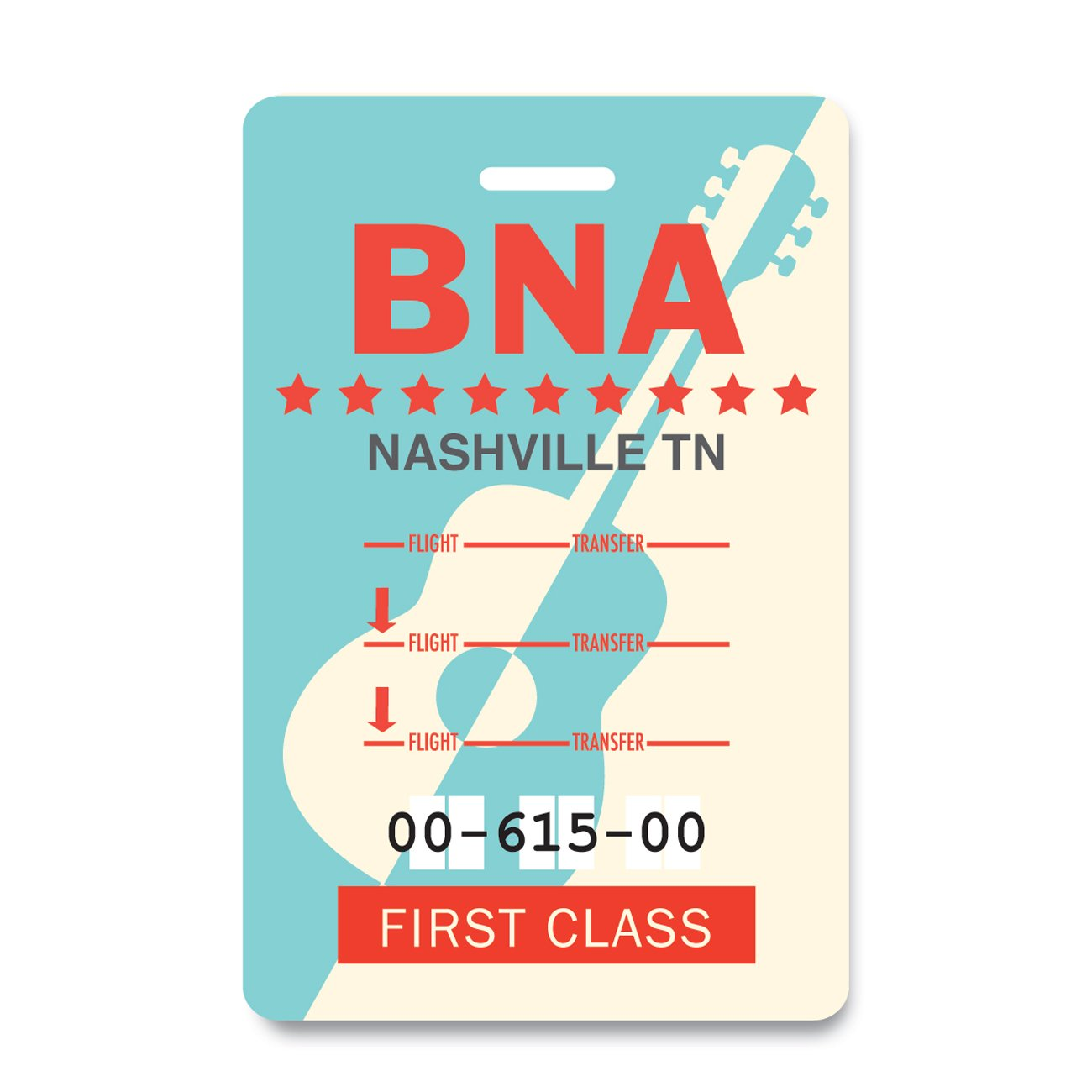 Nashville Luggage Tag