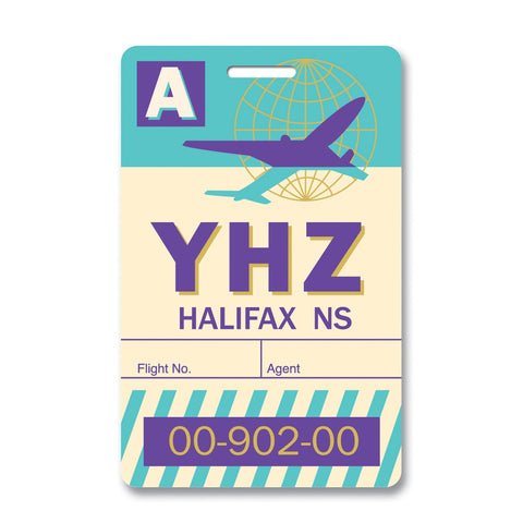 Halifax Luggage Tag