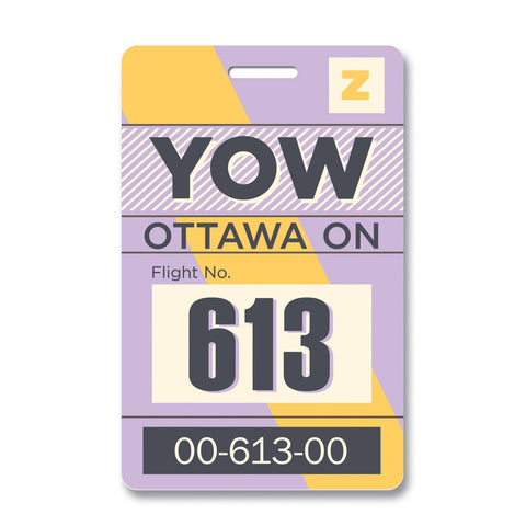 Ottawa Luggage Tag