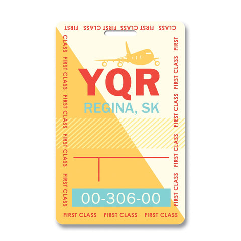 Regina Luggage Tag