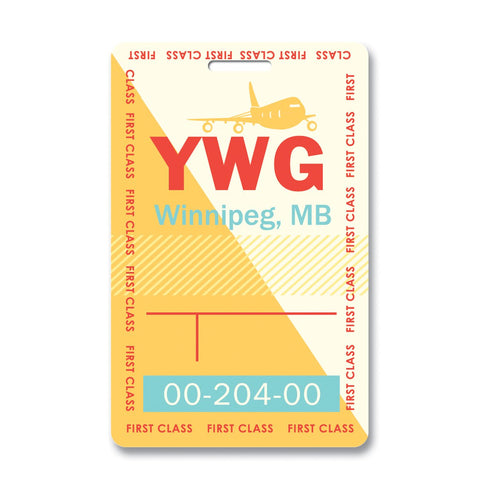 Winnipeg Luggage Tag