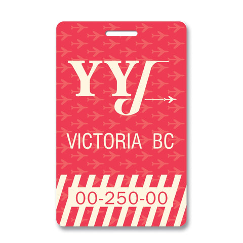 Victoria Luggage Tag