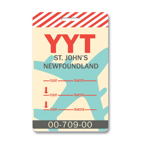 St. John's Luggage Tag
