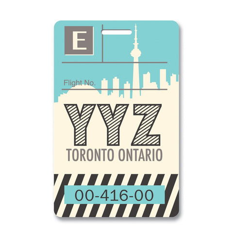 Toronto Luggage Tag