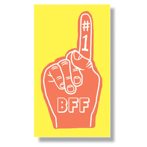 #1 BFF Mini Enclosure Card (set of 3)