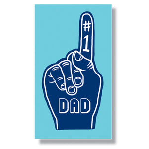 #1 Dad Mini Enclosure Card (set of 3)