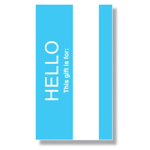 Hello My Name Is Mini Enclosure Card (set of 3)