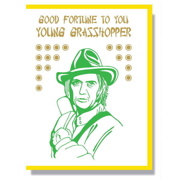 RIP David Carradine Card