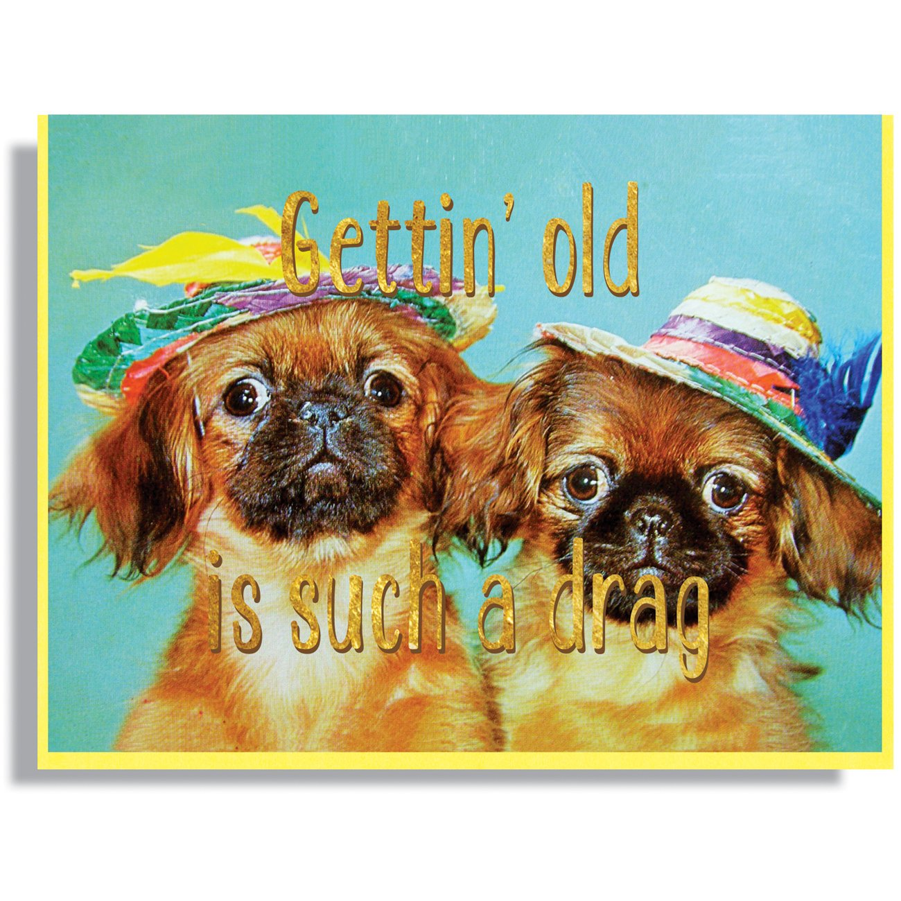 Gettin' Old Is Such A Drag Card