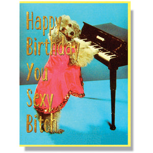 Sexy Bitch Birthday Card