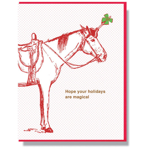 Magical Holidays Card