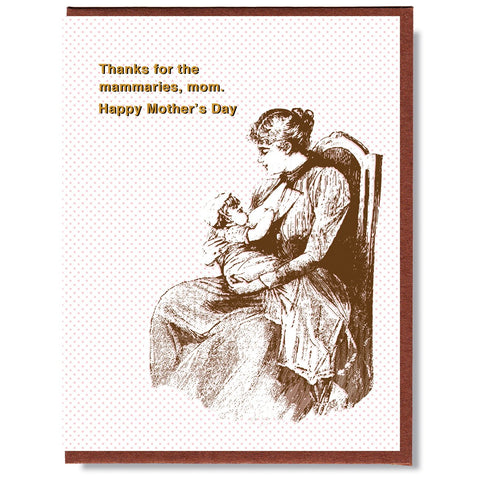 Mother's Day Mammaries Card