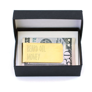 Beard Oil Money Clip