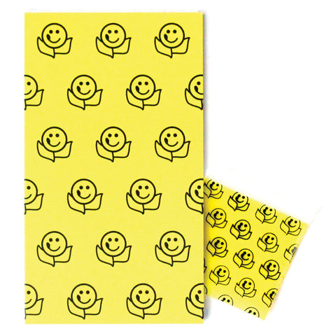 Smiley Face Mini Enclosure Card with Matching Dime Bag (set of 3)