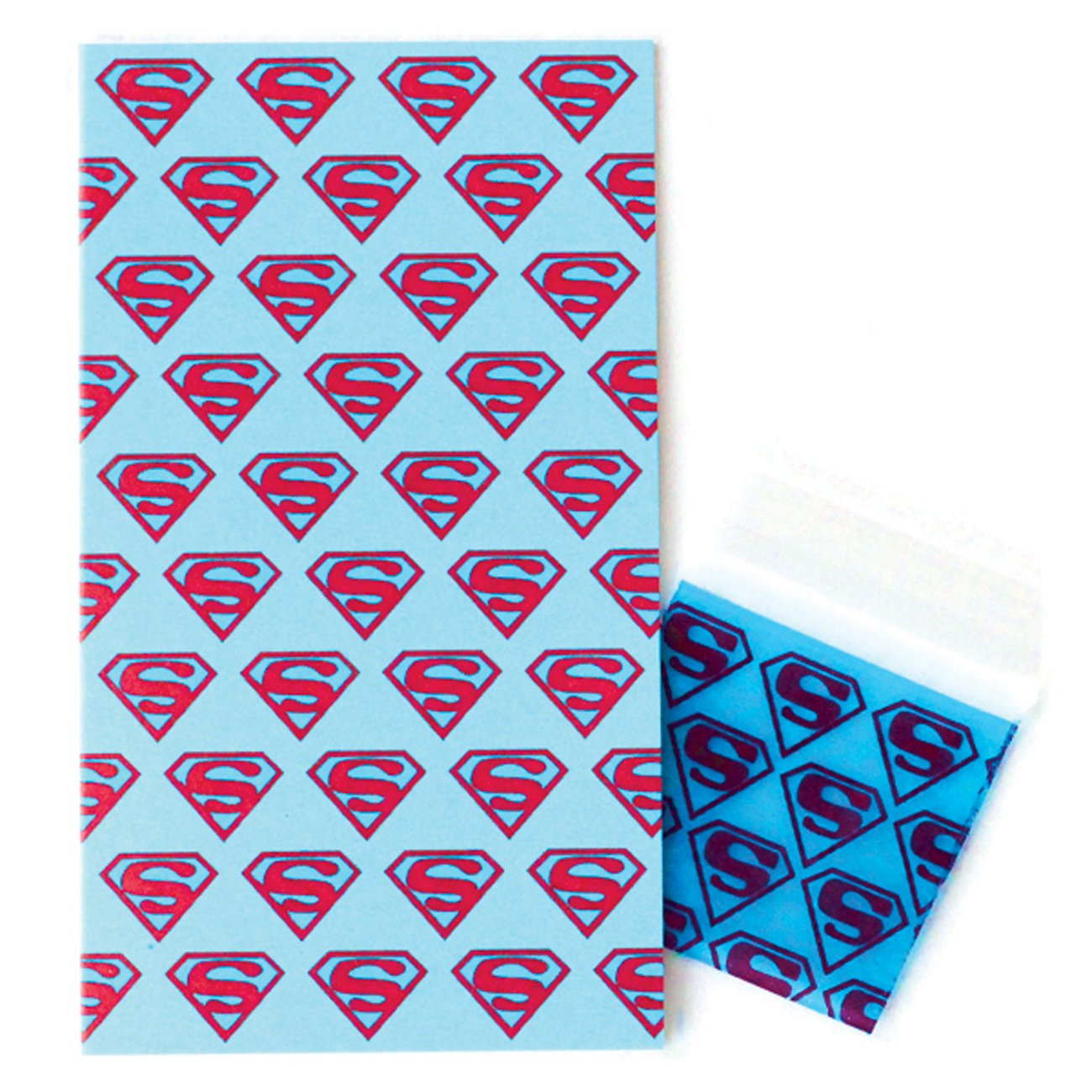 Superman Mini Enclosure Card with Matching Dime Bag (set of 3)
