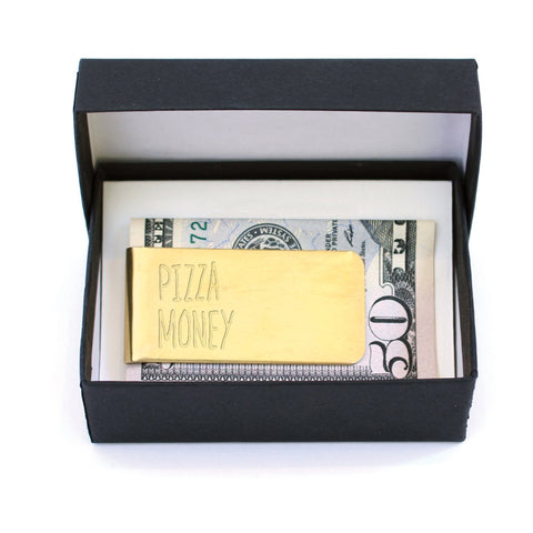Pizza Money Clip