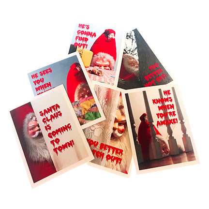 Creepy Santa Assorted Box Set (6)