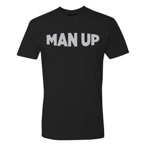 MAN UP Shirt – Black