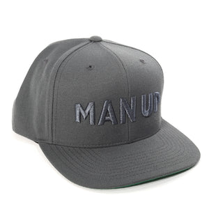 MAN UP Snapback – Grey