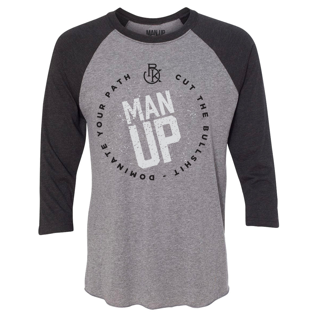 MAN UP Shirt – Raglan