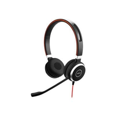 Jabra 14401-09 Evolve 40 Mono Headset Without Controller