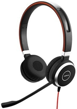 Jabra 14401-10 Evolve 40 Stereo Headset Without Controller (This is a non-returnable headset)