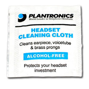 Plantronics 77684-01 HEADSET CLEANING TOWELETTE (1) - Free Shipping