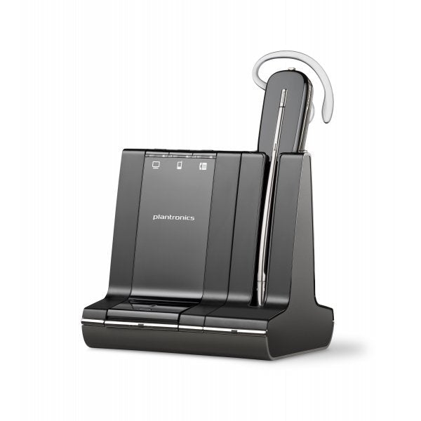 Plantronics 83542-01 W740,SAVI 3IN1,CONVERTIBLE,UC, DECT 6.0,NA                S12 - Free Shipping